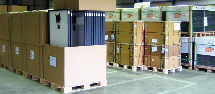 Warehouse/Logistics for PhotoVoltaic Solar Systems